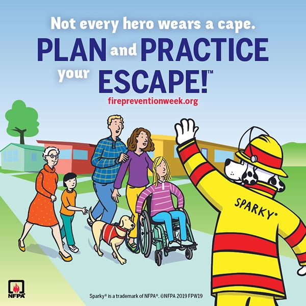 Plan and Practice Your Escape Flyer