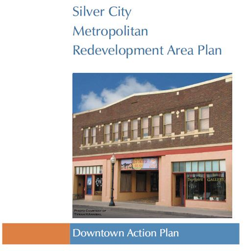 Silver City Metropolitan Redevelopment Area Plan Cover