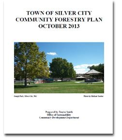 Community Forestry Plan Cover Sheet
